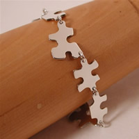 sterling silver puzzle bracelet jewelry